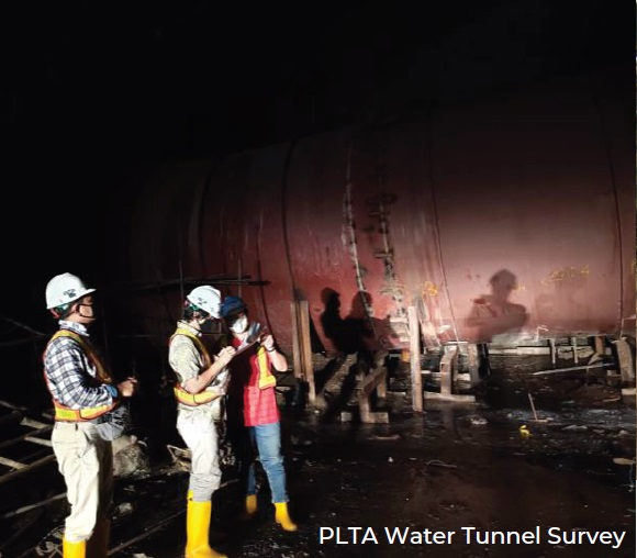 PLTA Water Tunnel Survey